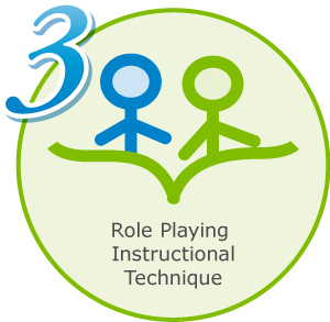 3: Role playing instructional technique