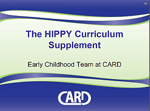 1: 3-Year home-based curriculum 30 weeks/year