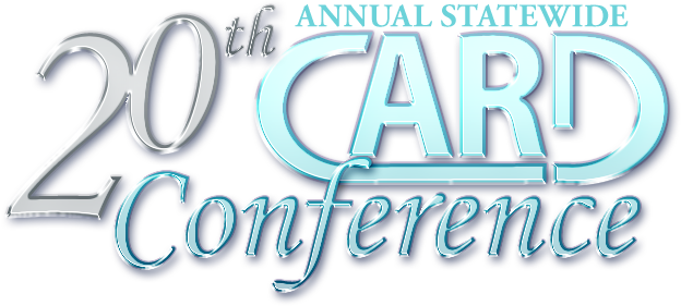 20th Annual Statewide CARD Conference, logo