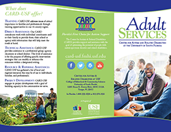 CARD Adult Services Brochure. Cover image