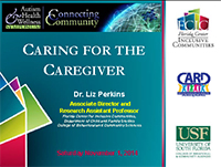 Caring for the Caregiver, cover
