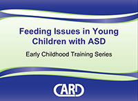 Feeding Issues for Individuals with ASD, cover