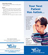 Your Next Patient has Autism Brochure, cover