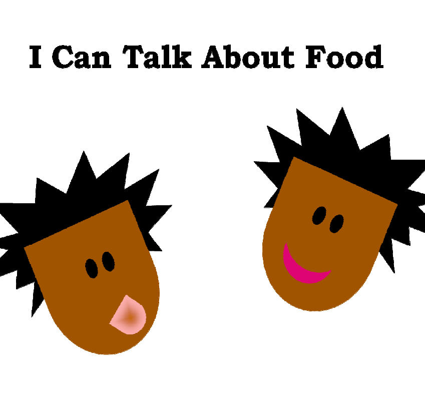 I Can Talk About Food, cover