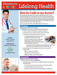 How do I Talk to my Doctor? Fact Sheet