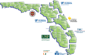 CARD Regional Site map